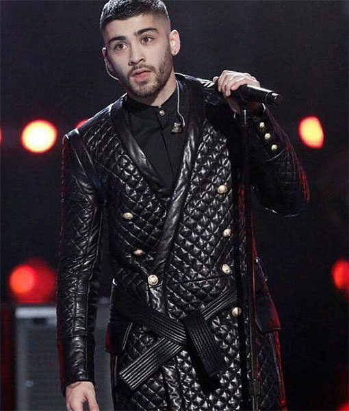 Zayn-Malik's-The-Voice-Finale-Quilted-Jacket-F