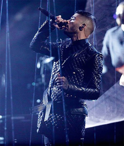 Zayn Malik's The Voice Finale Quilted Jacket