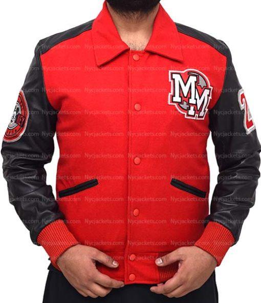 Michael Jackson Mickey Mouse Varsity Jacket