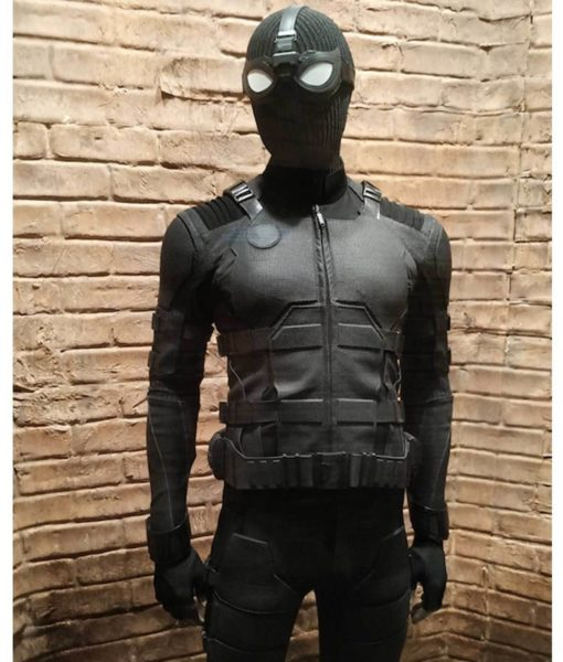 Spider-Man Far From Home Black Jacket