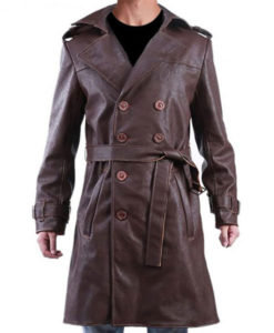 Watchmen Rorschach Leather Coat