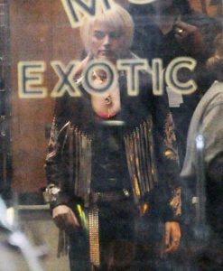 Margot Robbie Birds of Prey Fringe Jacket