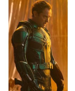 Captain Marvel Mar-Vell Leather Jacket