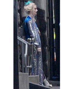 Margot Robbie Birds of Prey Coat