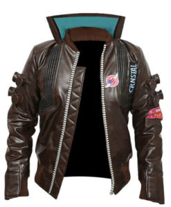 Cyberpunk 2077 Samurai Leather Jacket