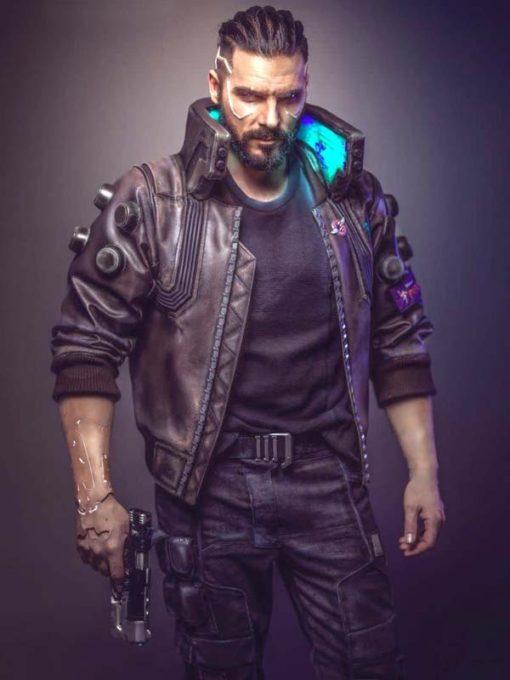 Cyberpunk Samurai Jacket | Cyberpunk V Bomber Jacket