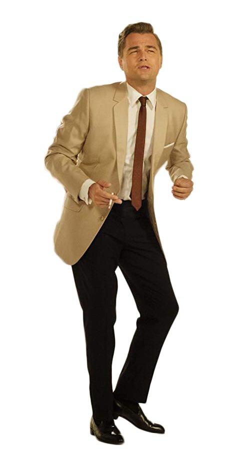 Leonardo DiCaprio Light Brown Suit