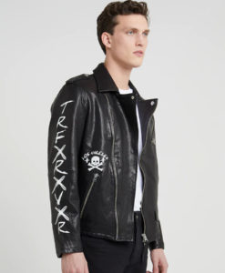 The Jeffrey Jacket By Walking Dean Worn Negan Leather Dead erCBodx
