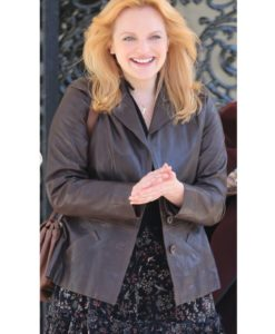Elisabeth Moss The Kitchen Leather Jacket
