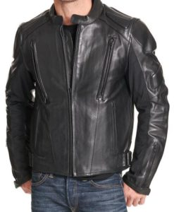 Orlando Mens Padded Motorcycle Jacket