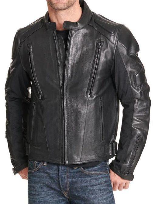 Orlando Mens Padded Motorcycle Jacket (2)