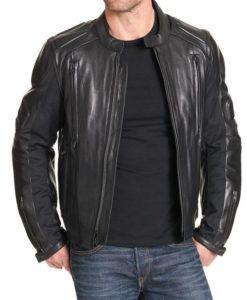 Orlando Mens Padded Motorcycle Jacket