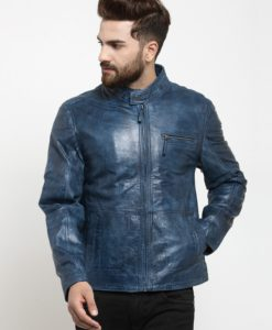 Slimfit Blue Jacket