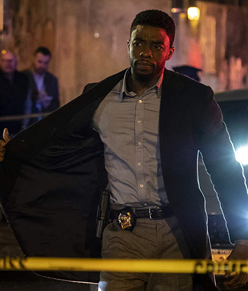 21 Bridges Chadwick Boseman Coat