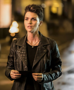 Batwoman Ruby Rose Leather Jacket
