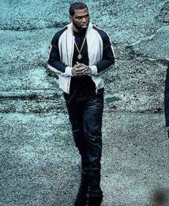 Power Kanan Black and White Jacket