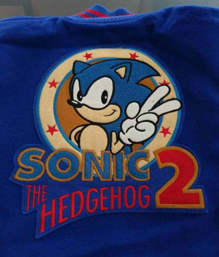 Sonic The Hedgehog Jacket Bomber Style Jacket For Sale