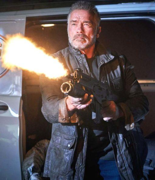 Terminator 6 Arnold Black Jacket (2)