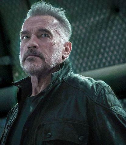 Terminator 6 Arnold Black Jacket