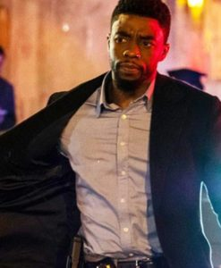Chadwick Boseman 21 Bridges Coat