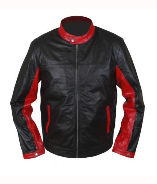 Burce-wayne-cafe-racer-jacket