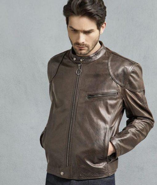 Burgan-Mens-Brown-And-Black-Hand-Waxed-Leather-Motorcycle-Jacket-600×706
