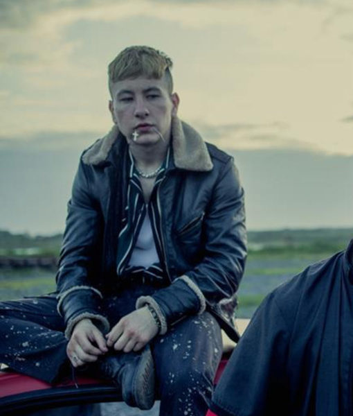 Calm-with-Horses-Barry-Keoghan-Leather-jacket