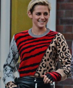 Charlie's Angels Animal Print Kristen Stewart Sweater