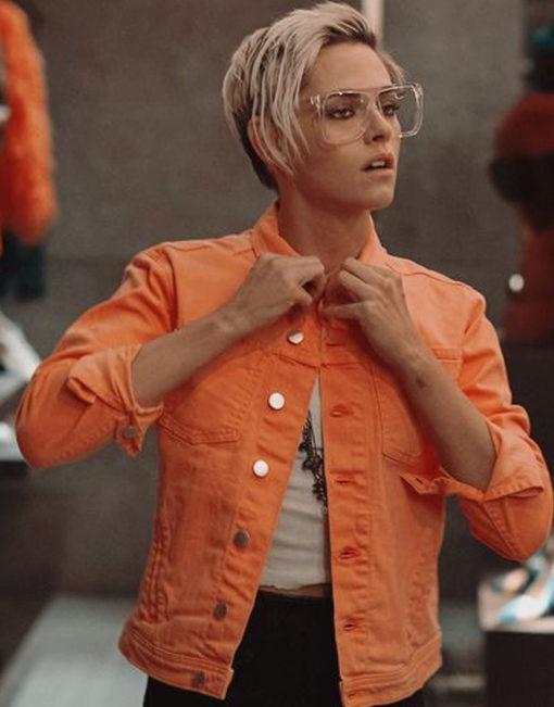 Charlie_s-Angels-Kristen-Stewart-Neon-Orange-Denim-Jacket