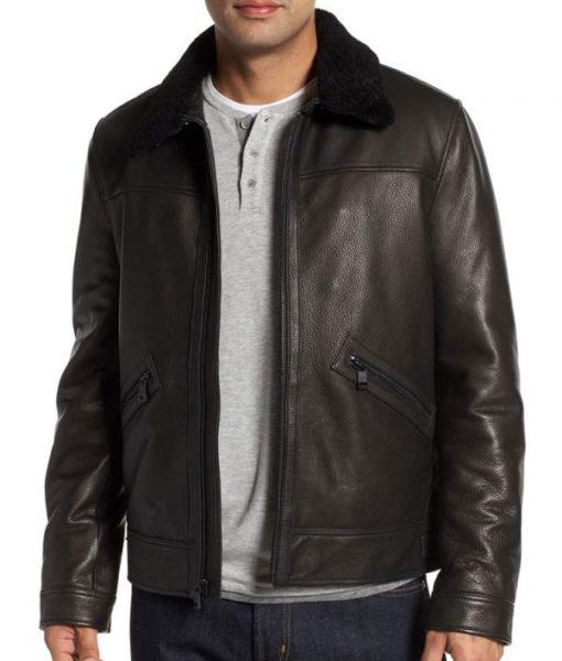 Haugen-Mens-Collar-Slimfit-Washed-Leather-Sheepskin-Jacket-600×706