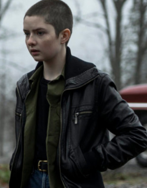 Lachlan-Watson-Chilling-Adventures-of-Sabrina-Susie-Putnam-Leather-Hoodie-Jacket