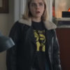 Let It Snow Motorcycle Leather Kiernan Shipka Jacket (3)
