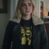 Let It Snow Motorcycle Leather Kiernan Shipka Jacket (4)