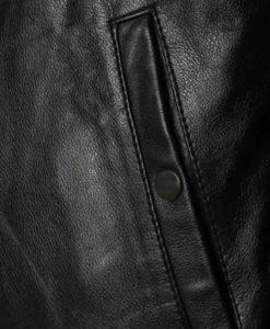 Locklear Mens Black Aviator Jacket