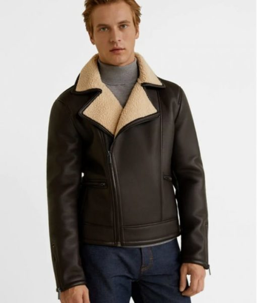 Logan-Mens-Shearling-Fur-Brown-Leather-Jacket-600×706