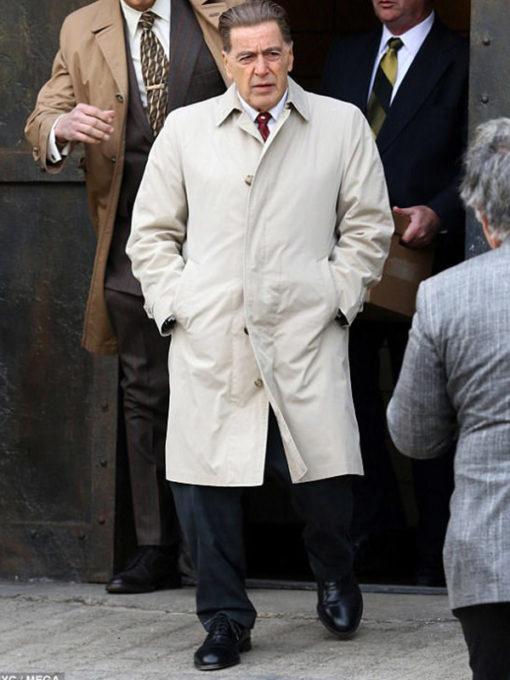 The Irishman Al Pacino Trench Coat