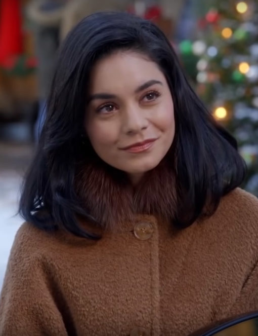 The Knight Before Christmas Vanessa-Hudgens Coat