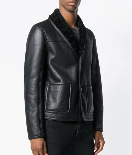 Theodore-Mens-Shearling-Lined-Collar-Cafe-Racer-Leather-Jacket
