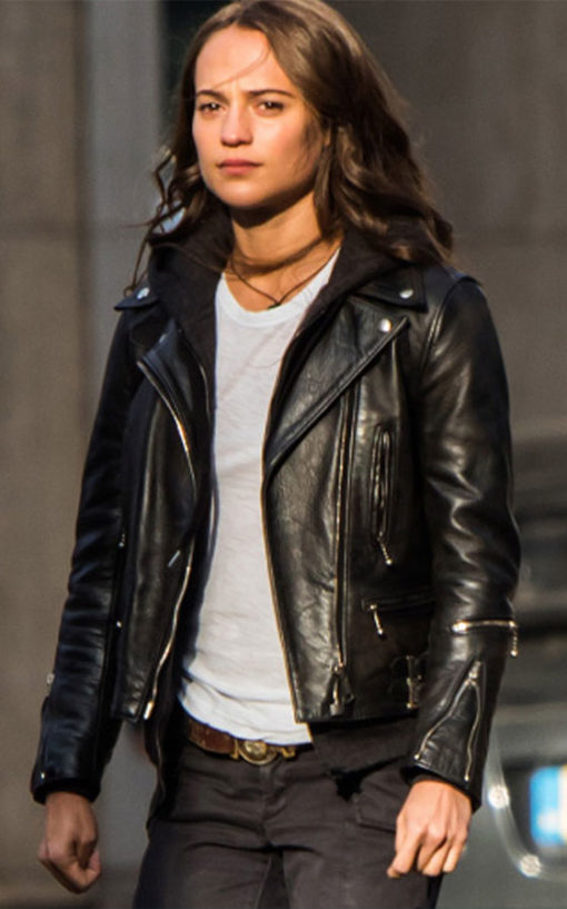 Tom Raider Leather Jacket