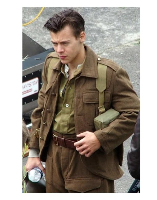 harry styles dunkirk jacket