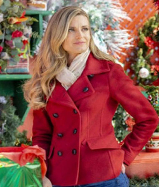 Christmas in Love Brooke D'Orsay Red Coat front