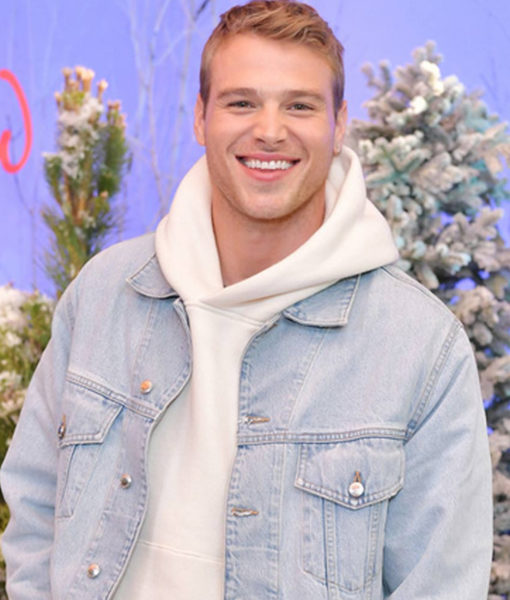Let It Snow Matthew Noszka Denim Jacket