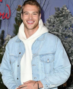 Let It Snow Matthew Noszka Denim Jacket
