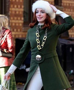Modern Love Anne Hathaway Green Coat