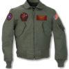 Top Gun 2 Maverick MA-1 Flight Patched Jacket