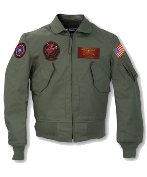 Top Gun 2 Maverick MA-1 Flight Patched Jacket