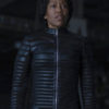 Watchmen Series Finale Angela Abar (Regina King) Black Jacket Right (2)