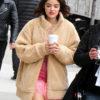 Katy Keene Sherpa Oversize Jacket Front 1