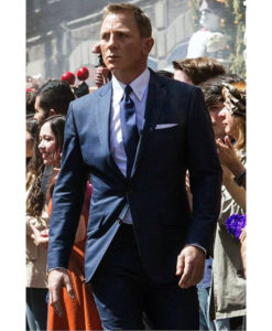 007 Spectre James Bond Windowpane Suit