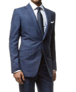 Spectre James Bond Windowpane Suit